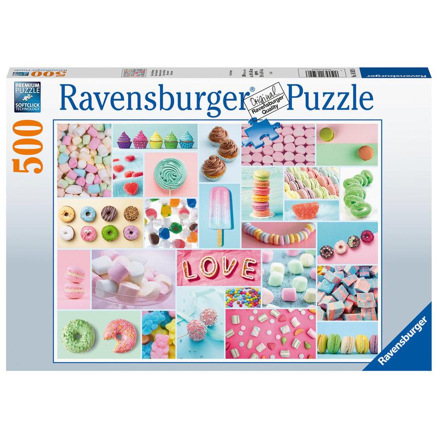 Zoete verleiding - puzzel van 500 stukjes-1