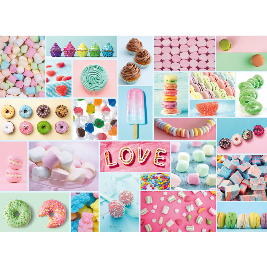 Sweet treats - jigsaw puzzle of 500 pieces-2