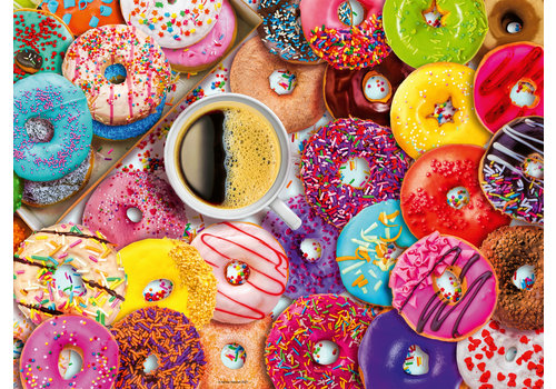 Ravensburger Doughnut Disturb! - 500 pieces