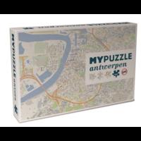 thumb-Antwerpen - puzzel van  1000 stukjes-1