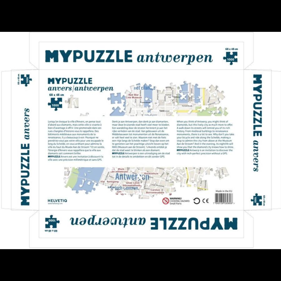 Antwerpen - puzzel van  1000 stukjes-2