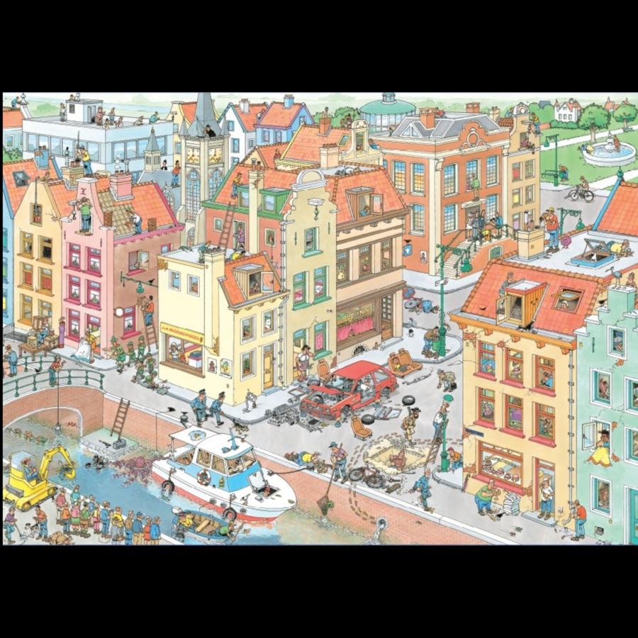 Het ontbrekende stukje - Jan van Haasteren - 20041 - 1000 stukjes-2