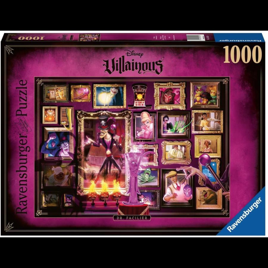 Villainous  Dr. Facilier - puzzle of 1000 pieces-1