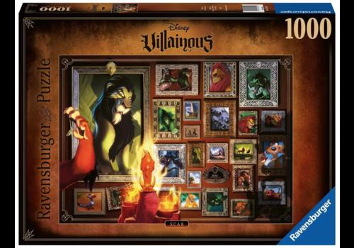 Ravensburger Villainous Scar  - 1000 pieces