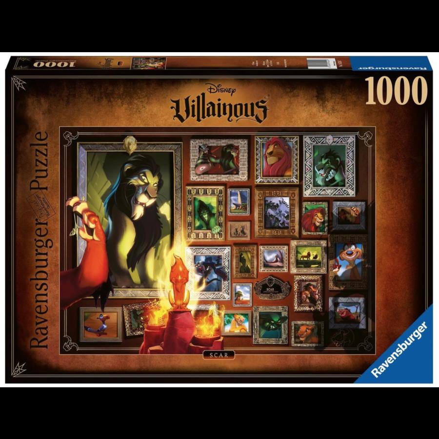 Villainous  Scar - puzzle of 1000 pieces-1