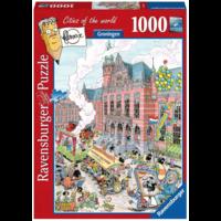 thumb-Groningen - Fleroux -  puzzel van 1000 stukjes-1