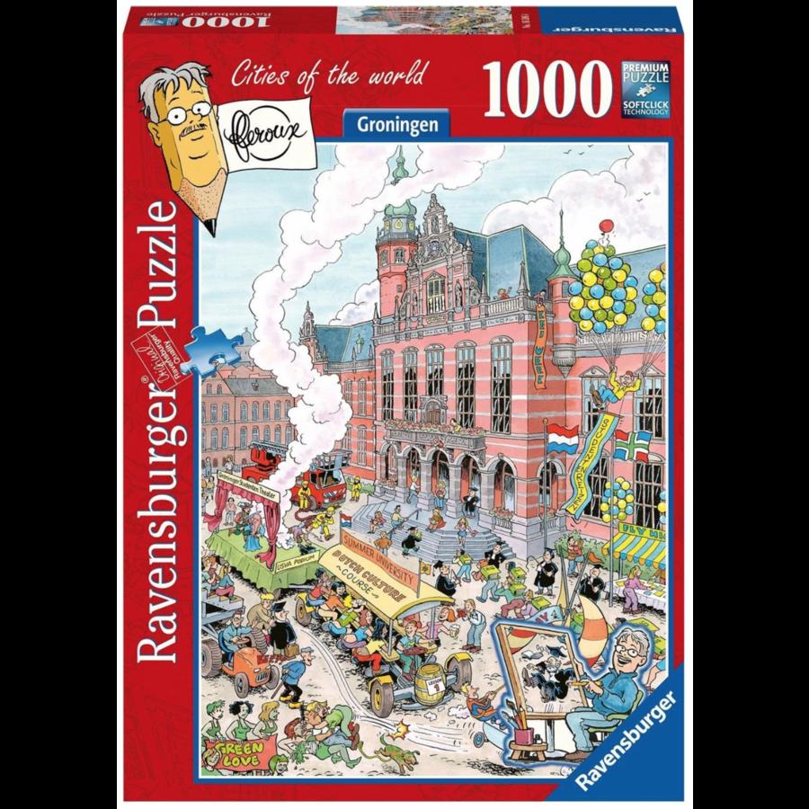 Groningen - Fleroux -  puzzel van 1000 stukjes-1