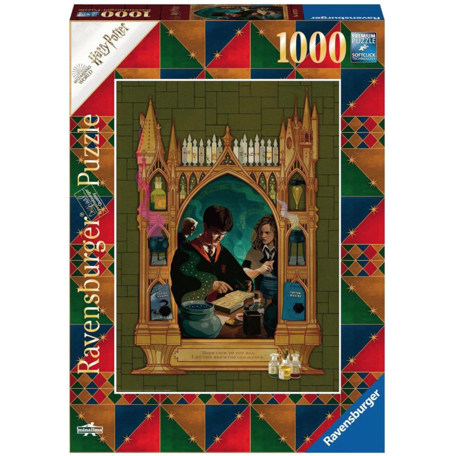 Harry Potter  - jigsaw puzzle of 1000 pieces-1