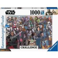 thumb-Baby Yoda - Mandalorian - Challenge - puzzel van  1000 stukjes-2