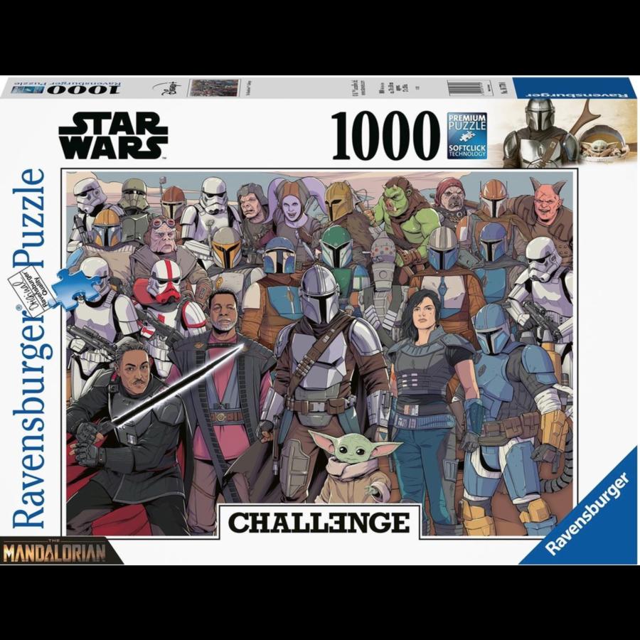 Baby Yoda - Mandalorian - Challenge - puzzel van  1000 stukjes-2