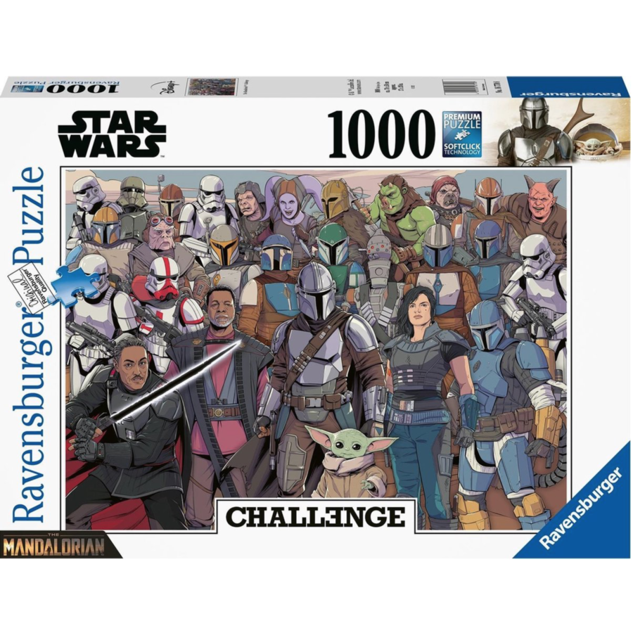 Baby Yoda - Mandalorian - Challenge - puzzle of 1000 pieces-2