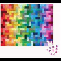 thumb-LEGO - Rainbow Bricks  - puzzel - 1000 stukjes-2