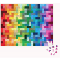 thumb-LEGO - Rainbow Bricks  - puzzle - 1000 pieces-2