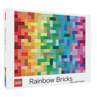 thumb-LEGO - Rainbow Bricks  - puzzel - 1000 stukjes-1