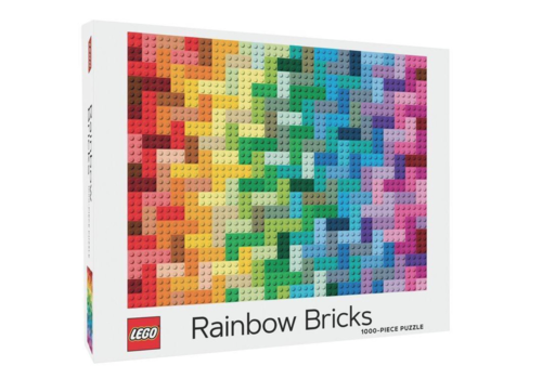 Chronicle Books LEGO - Rainbow Bricks - puzzel - 1000 stukjes
