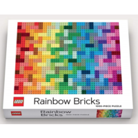 thumb-LEGO - Rainbow Bricks  - puzzle - 1000 pieces-3