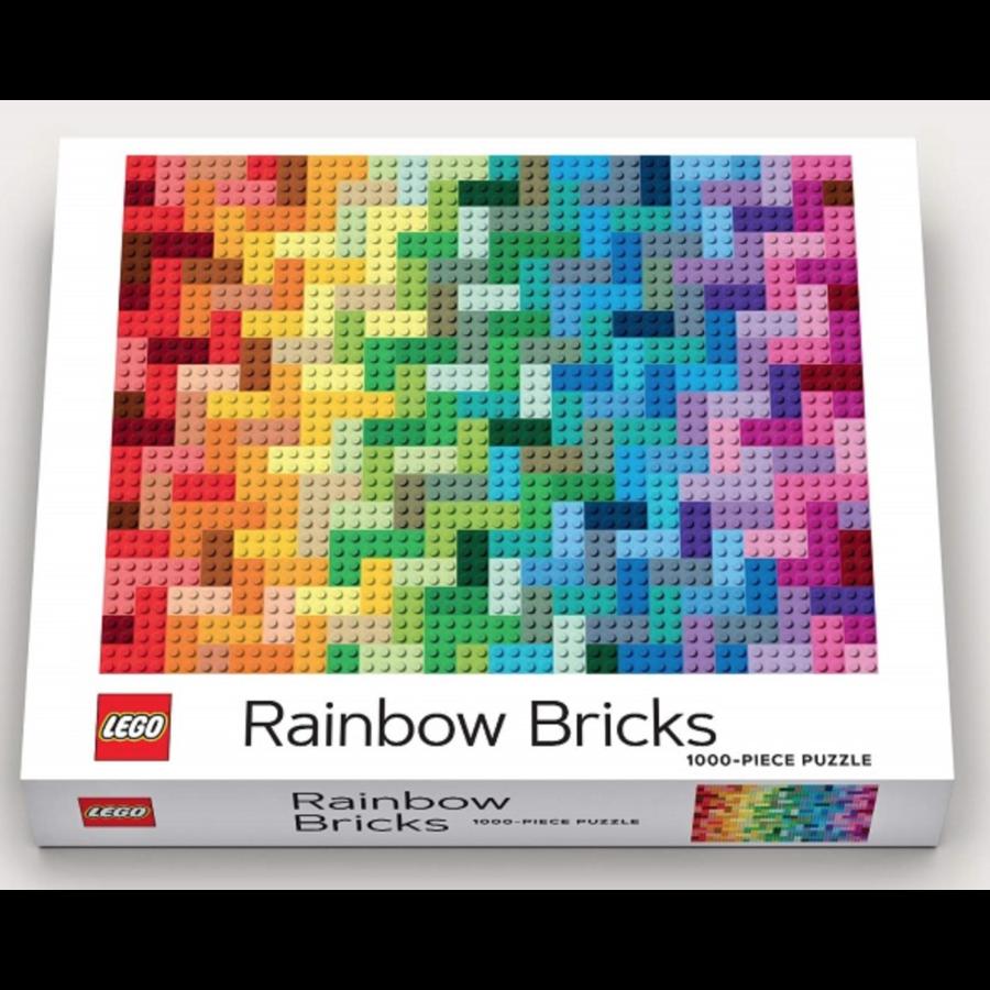 LEGO - Rainbow Bricks  - puzzle - 1000 pieces-3