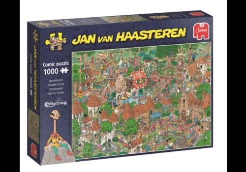 Jumbo Fairytale Forest - Efteling - Jan van Haasteren - 20045- 1000 pieces