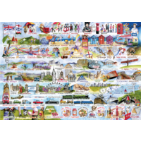 thumb-Cream Teas & Queuing - puzzle de 2000 pièces-2