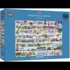 Gibsons Cream Teas & Queuing - puzzle de 2000 pièces