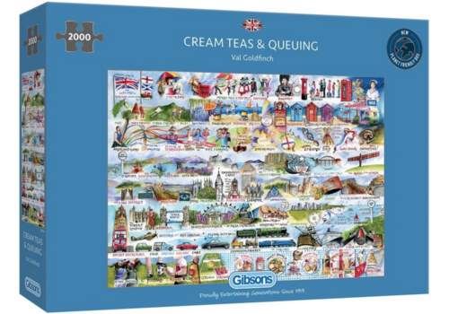 Gibsons Cream Teas & Queuing - 2000 pièces