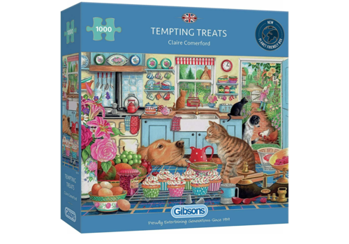 Gibsons Tempting Treats - 1000 pieces