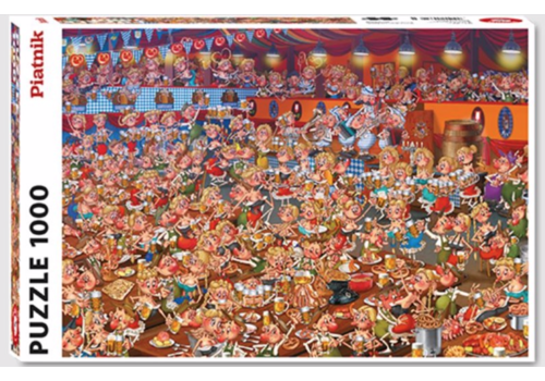 Piatnik Bierfeest - Comic - 1000 stukjes