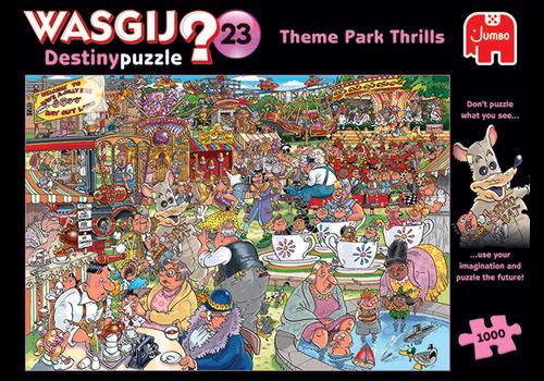 Jumbo Wasgij Destiny 23 - Theme Park Thrills - 1000 pieces