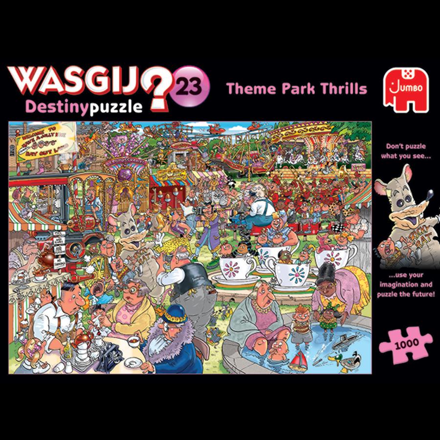 Wasgij Destiny 23 - Spektakel in het Park - 1000 stukjes-1