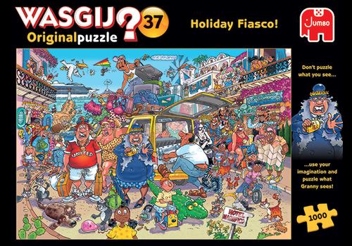 Jumbo Wasgij Original 37 - Fiasco de vacances - 1000 pièces