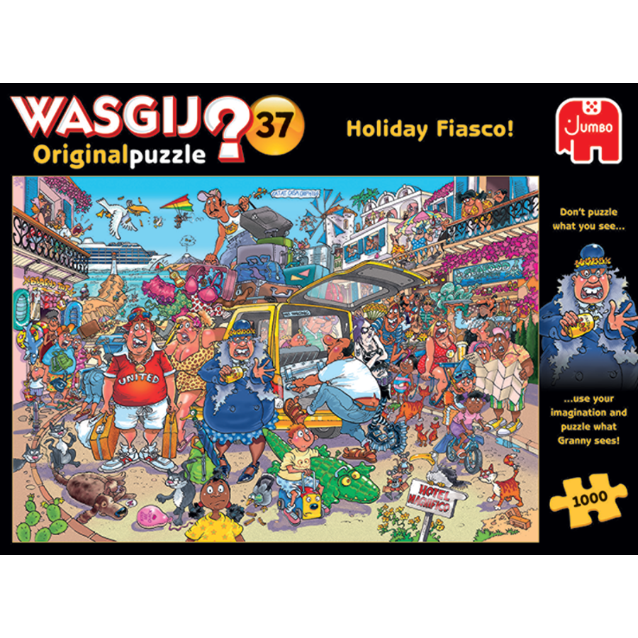 Wasgij Original 37 - Vakantiefiasco - 1000 stukjes-1