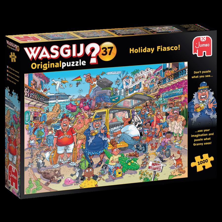Wasgij Original 37 - Vakantiefiasco - 1000 stukjes-2