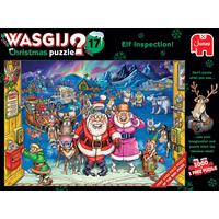 thumb-Wasgij Christmas 17 - Elf Inspection! - 2 puzzels van 1000 stukjes-1