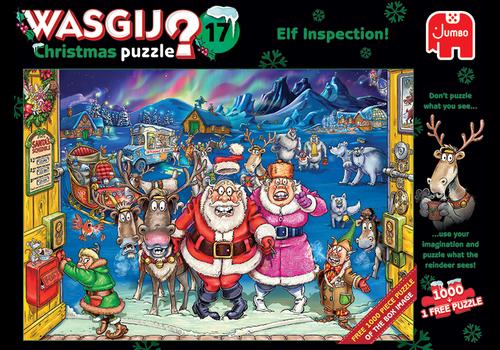 Jumbo Wasgij Noël 17 - 2 x 1000 pièces