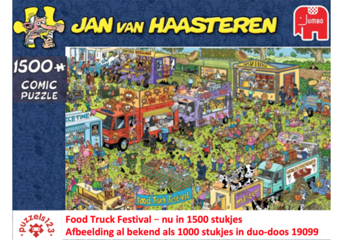 Jumbo Food Truck Festival - JvH - 1500 stukjes
