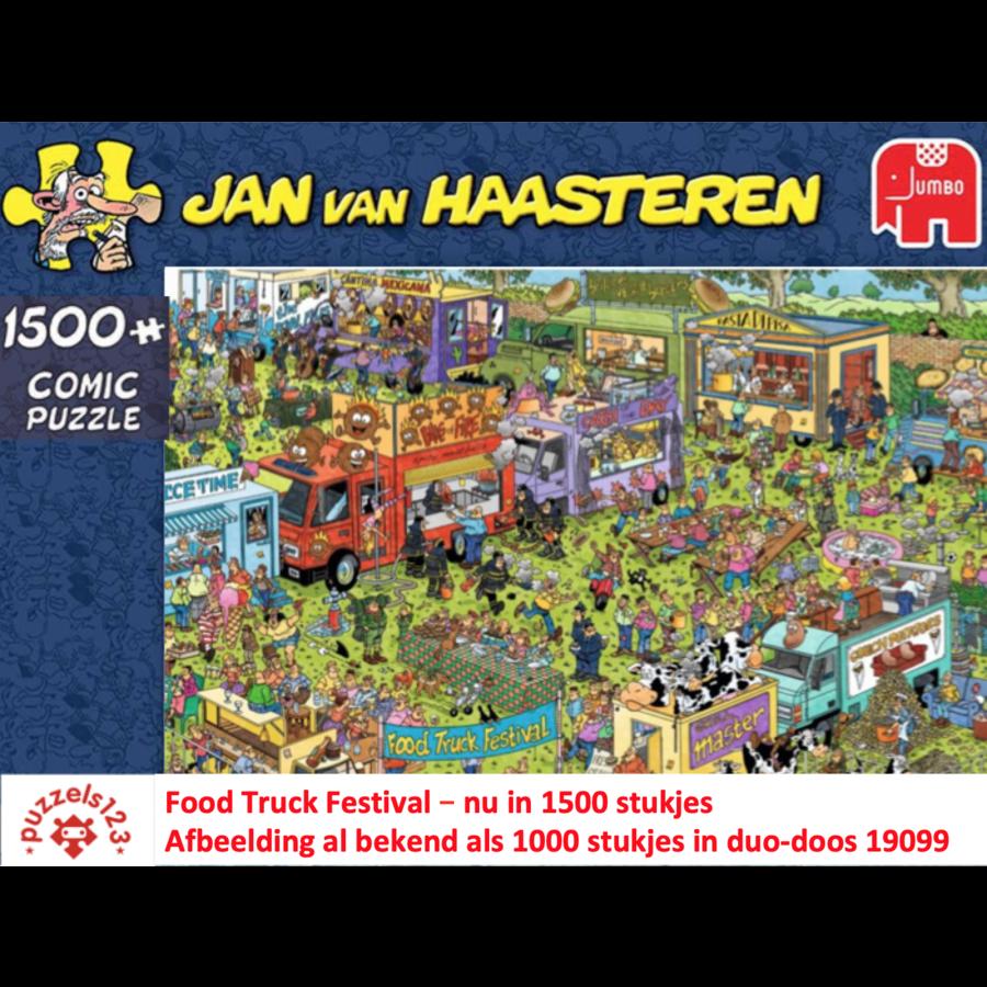 Food Truck Festival - JvH - 1500 pièces-1