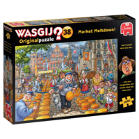 thumb-Wasgij Original 38 -Market Meltdown - 1000 stukjes-1