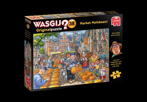 Jumbo Wasgij Original 38 - Market Meltdown - 1000 stukjes