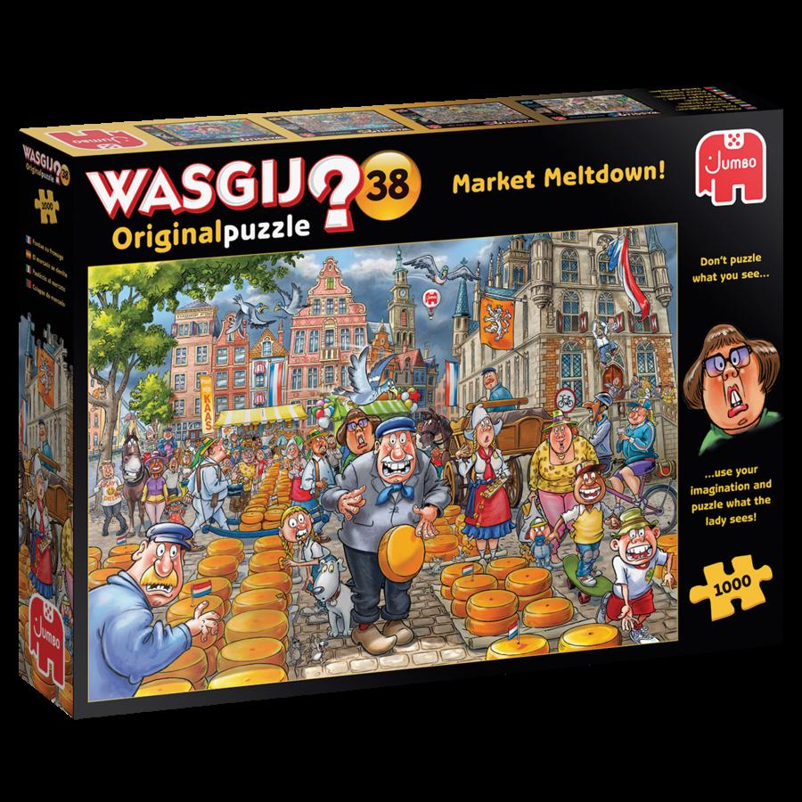 Wasgij Original 38 -Market Meltdown - 1000 stukjes-1