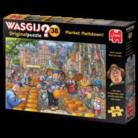 thumb-Wasgij Original 38 -Market Meltdown - 1000 stukjes-3