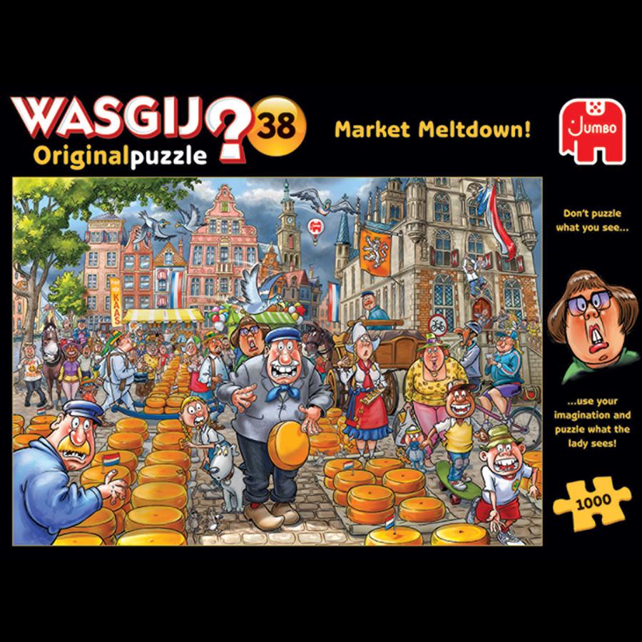 Wasgij Original 38 -Market Meltdown - 1000 stukjes-4