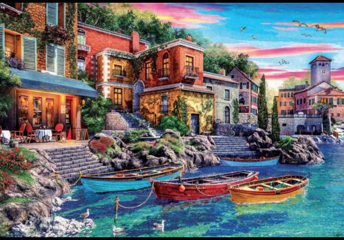 Educa Sunset in Como - 3000 pieces