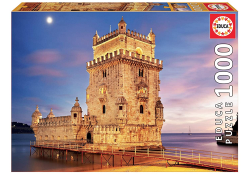 Educa De Toren van Belém - 1000 stukjes