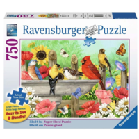 Badende vogels - puzzel van 750 XXL stukjes