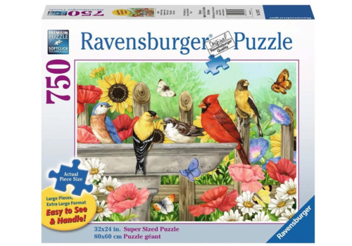 Ravensburger Bathing Birds - 750 XXL pieces