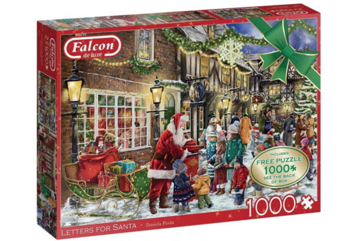 Falcon Brieven voor de kerstman - 2 x 1000 stukjes