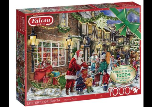 Falcon Lettres for Santa - 2 x 1000 pieces