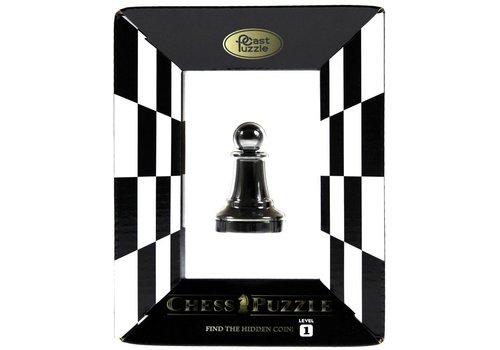 Cast Puzzle Pion Noir - Pièce d'échecs - Casse-tête