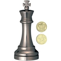 thumb-Le Roi Noir - Pièce d'échec - casse-tête de Cast-2