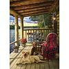 Cobble Hill Cabin Porch - puzzel van 1000 stukjes